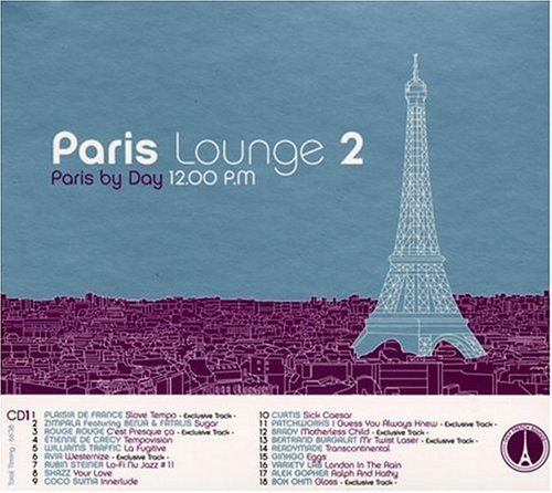 Paris Lounge Vol. 2 Paris Lounge Import Paris Lounge