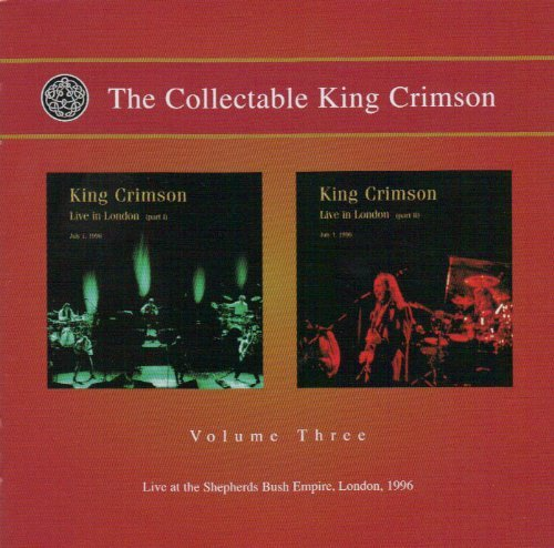 King Crimson Vol. 3 Collectable King Crimso 2 CD Set