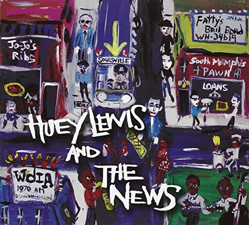 Huey & The News Lewis Soulsville CD Jacket