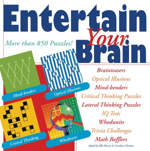 Ella Harris Entertain Your Brain More Than 850 Puzzles!