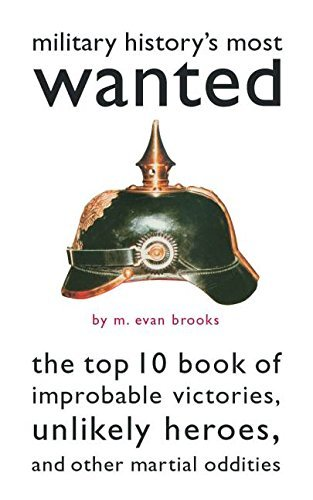 M. Evan Brooks Military History's Most Wanted The Top 10 Book Of Improbable Victories Unlikely