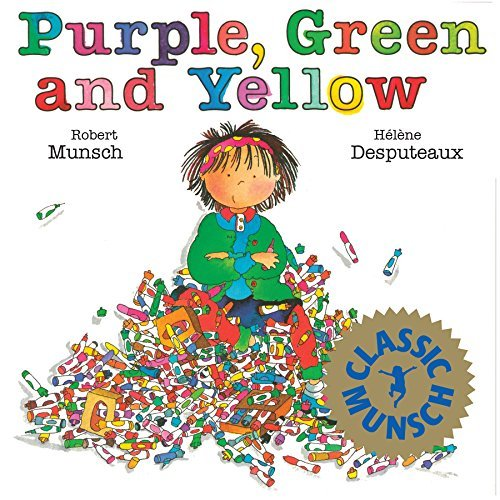 Robert Munsch Purple Green And Yellow