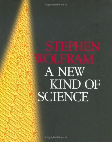 Stephen Wolfram A New Kind Of Science