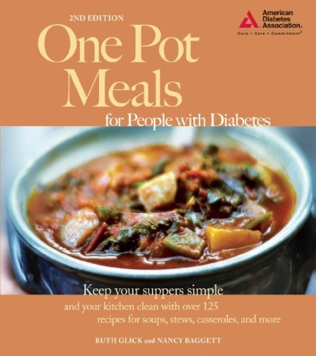 Ruth Glick One Pot Meals For People With Diabetes 0002 Edition;