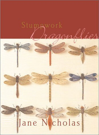 Jane Nicholas Stumpwork Dragonflies