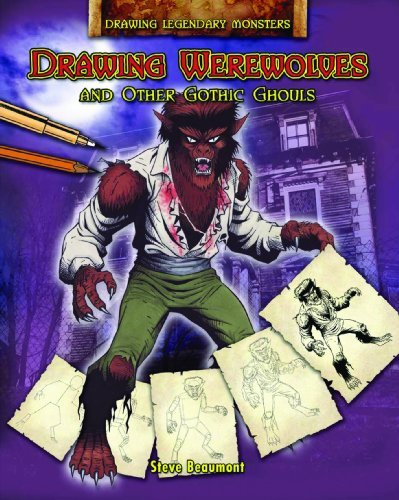 Steve Beaumont Drawing Werewolves And Other Gothic Ghouls