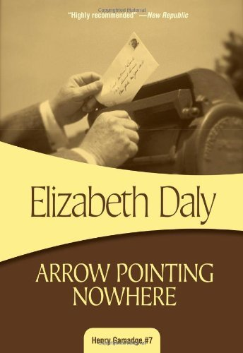 Elizabeth Daly Arrow Pointing Nowhere