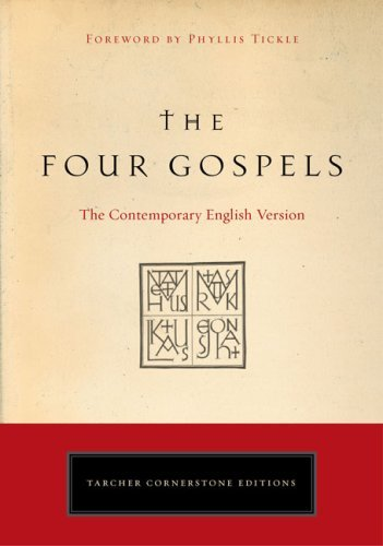 American Bible Society The Four Gospels The Contemporary English Version
