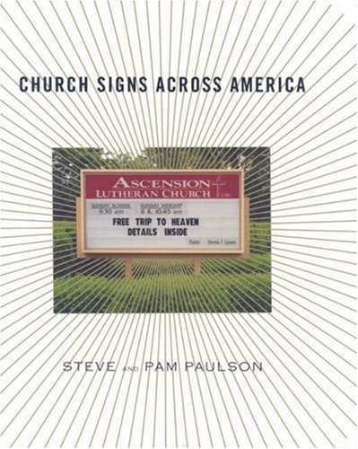 Steve Paulson Church Signs Across America