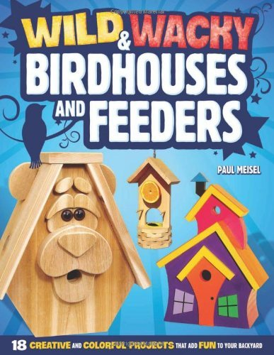 Paul Meisel Wild & Wacky Birdhouses And Feeders 18 Creative And Colorful Projects That Add Fun To