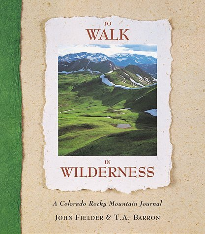 John Fielder To Walk In Wilderness