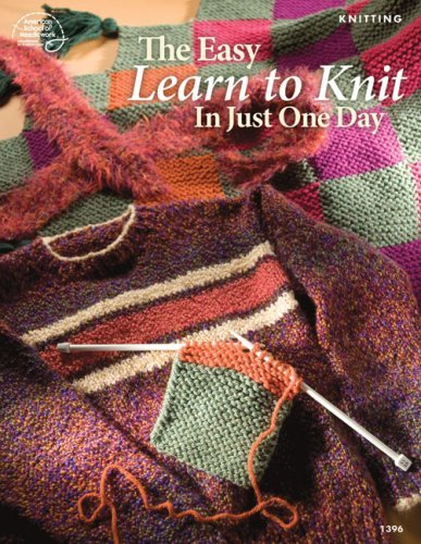 Bobbie Matela The Easy Learn To Knit In Just One Day