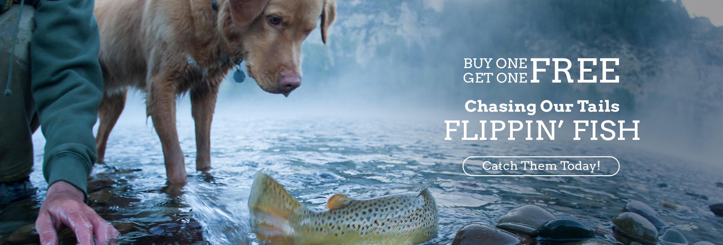 Flippin' Fish BOGO Free
