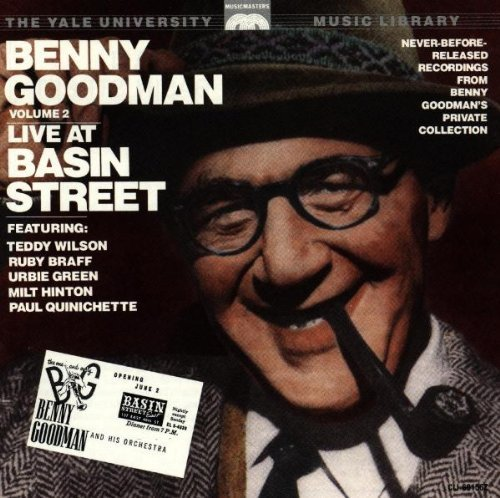 Goodman Benny Vol. 2 Yale Recordings