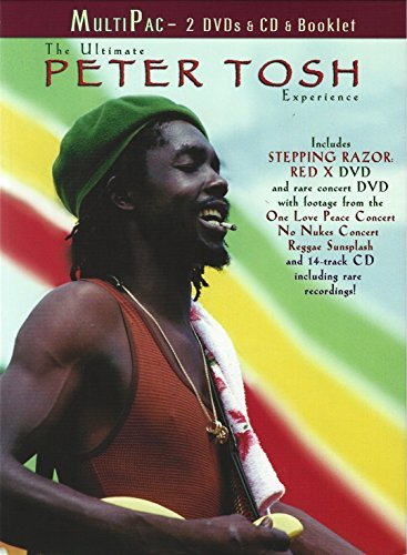 Peter Tosh Ultimate Peter Tosh Experience 2 DVD Incl. CD