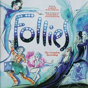 Cast Recording Follies Music By Stephen Sondheim 2 CD Set