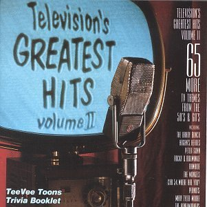 Television's Greatest Hits Vol. 2 Themes From 50's & 60 Brady Bunch Rawhide Monkees Television's Greatest Hits