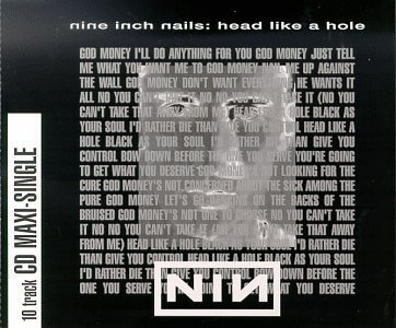 Nine Inch Nails Head Like A Hole
