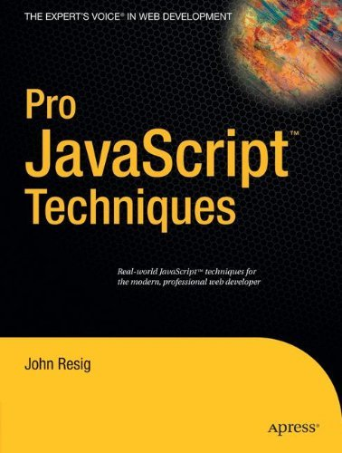 John Resig Pro Javascript Techniques