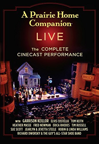 Garrison Keillor A Prairie Home Companion Live The Complete Hd Broadcast