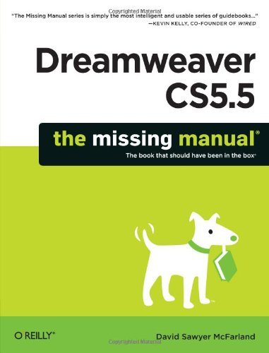 David Sawyer Mcfarland Dreamweaver Cs5.5