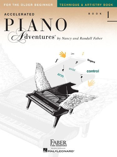 Nancy Faber Accelerated Piano Adventures Book 1 Technique & For The Older Beginner