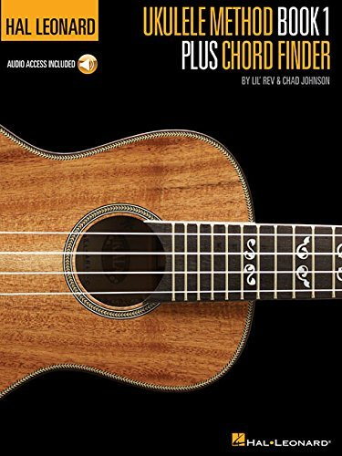 Lil' Rev Hal Leonard Ukulele Method Book 1 Plus Chord Finde