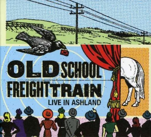 Old School Freight Train Live In Ashland