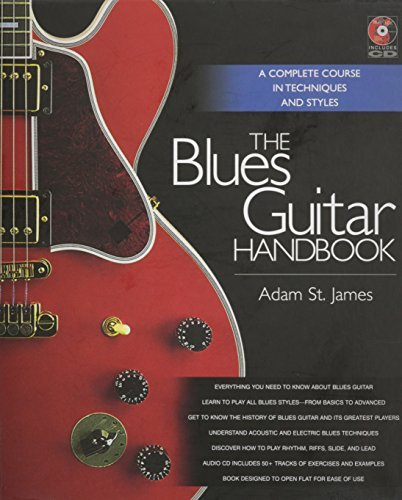 Adam St James The Blues Guitar Handbook [with CD (audio)]