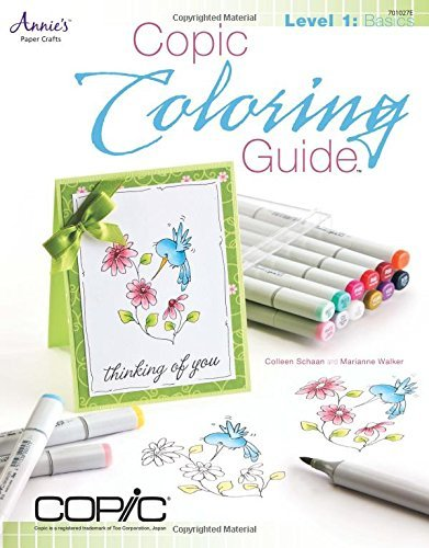 Colleen Schaan Copic Coloring Guide