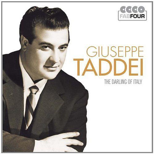 Guiseppe Taddei Darling Of Italy 4 CD