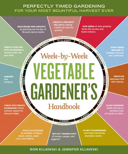 Jennifer Kujawski Week By Week Vegetable Gardener's Handbook Perfectly Timed Gardening For Your Most Bountiful