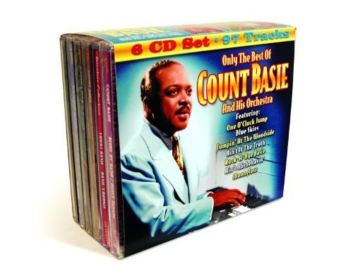 Count & His Orchestra Basie Only The Best Of Count Basie 6 CD