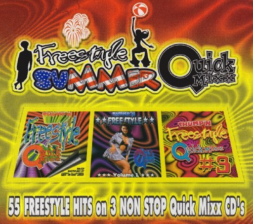 Freestyle Summer Quick Mixx Freestyle Summer Quick Mixx Expose Cover Girls Sandee Jaya 3 CD