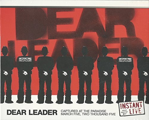 Dear Leader Instant Live Paradise Boston M Digipak