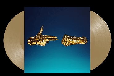 Run The Jewels Run The Jewels 3 (indie Exclusive) Limited To 2000 Copies Indie Exclusive Gold Pendant + Double Gold Vinyl + Sticker Sheet + Poster + Lyric Insert