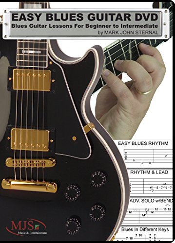 Mark John Sternal Easy Blues Guitar DVD Blues Guitar Lessons For Beginner Through Interme