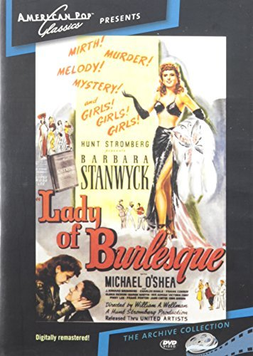 Lady Of Burlesque Stanwyck O'shea Adrian DVD Mod This Item Is Made On Demand Could Take 2 3 Weeks For Delivery