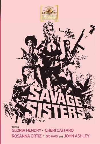 Savage Sisters (1974) Hendry Caffaro Ortiz DVD Mod This Item Is Made On Demand Could Take 2 3 Weeks For Delivery