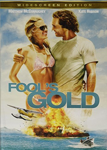 Fool's Gold Mcconaughey Hudson Sutherland Ws Valentines Movie Cash Pg13