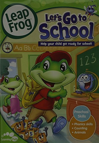 Vol. 2 Let's Go To School Leapfrog Nr Incl. Flash Cards