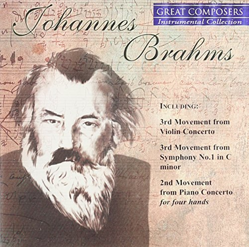 Johannes Brahms Great Composers Instrumental C
