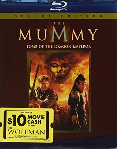 Mummy Tomb Of The Dragon Emper Mummy Tomb Of The Dragon Emper Ws Blu Ray R Incl. Movie Cash