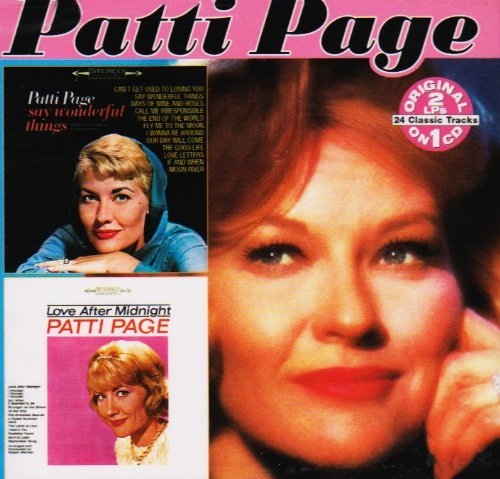 Patti Page Say Wonderful Things Love Afte 2 On 1