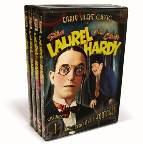Laurel & Hardy Vol. 1 4 Early Silent Classics Bw Nr 4 DVD