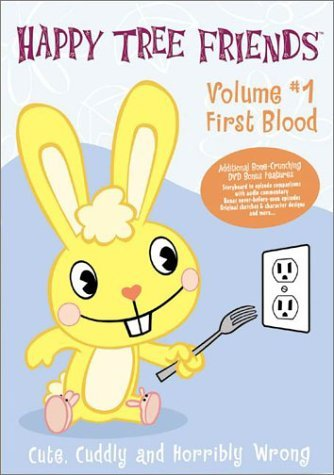 Happy Tree Friends Vol. 1 First Blood Clr Nr