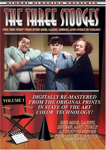 Three Stooges Vol. 1 Clr Nr