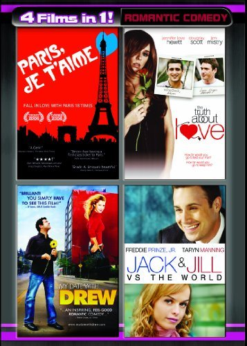 4 Movies In 1! Romantic Comedy Prinze Freddie Jr. R 2 DVD