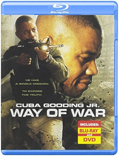 Way Of War Gooding Cuba Jr. Blu Ray Ws R Incl. DVD