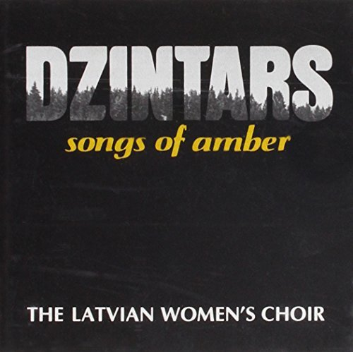 Latvian's Women Choir Dzintars Songs Of Amber Import Eu